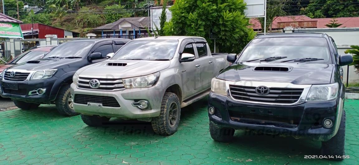4 Unit Mobil Dari Tambrauw Dikembalikan ke Kejaksaan Negeri Sorong 1 IMG 20210415 WA0032
