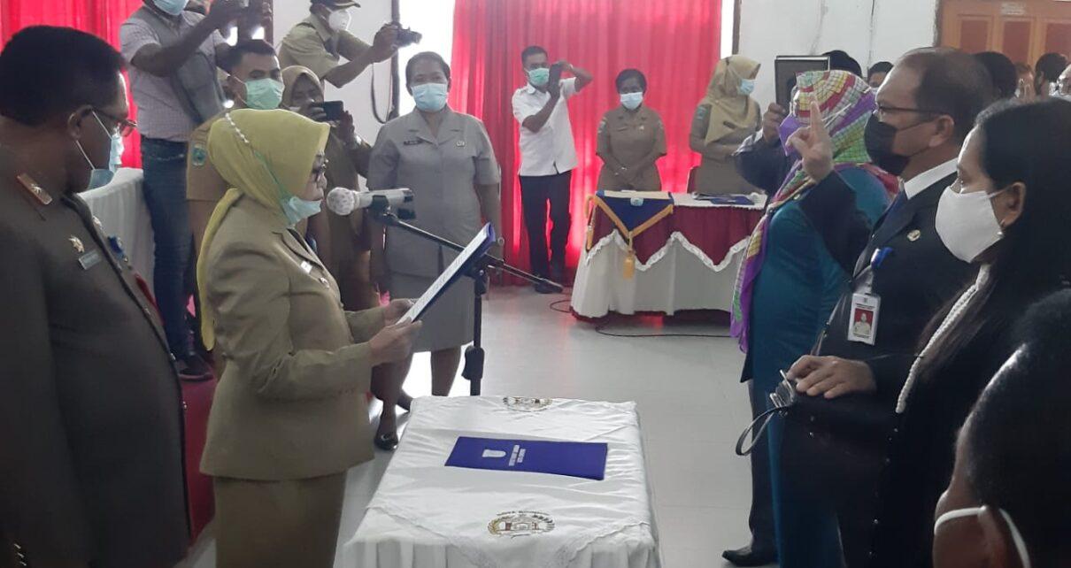 Kepala BPKAD Dan Inspektorat Kota Sorong Diganti 1 IMG 20210420 WA0060