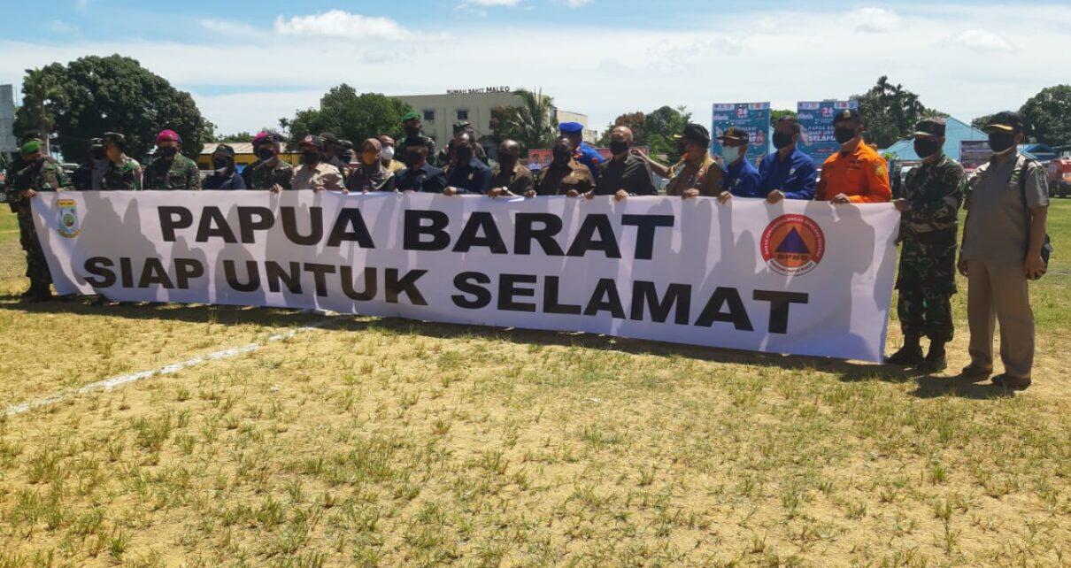 Papua Barat Rawan Bencana Alam, BNPB Tingkatkan Siaga 24 Jam 3 IMG 20210426 WA0030