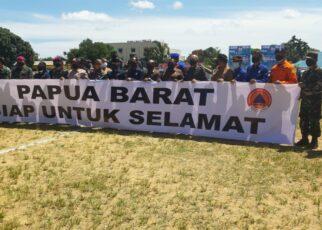 Papua Barat Rawan Bencana Alam, BNPB Tingkatkan Siaga 24 Jam 16 IMG 20210426 WA0030