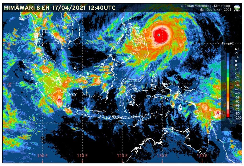 Waspada Siklon Tropis Surigae, Gelombang Laut di Papua Capai 6 Meter 7 Screenshot 20210417 232247 Samsung Internet