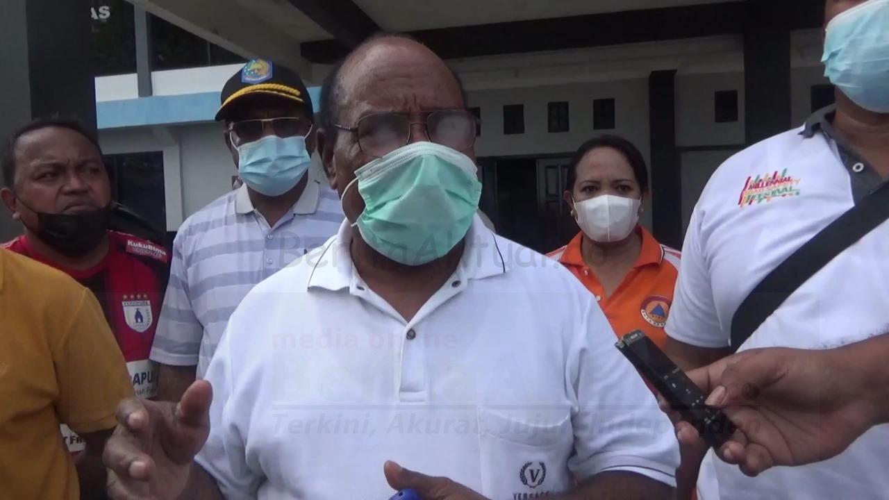 Langgar Prokes, Satgas Covid Kota Sorong Bubarkan Pertandingan Sepak Bola 5 IMG 20210507 WA0028