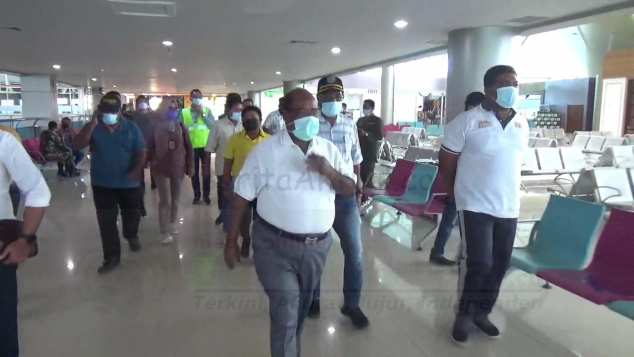 Pasca Dilarang Mudik, Aktivitas Bandara DEO Dan Pelabuhan Sorong Sepi 4 IMG 20210507 WA0097