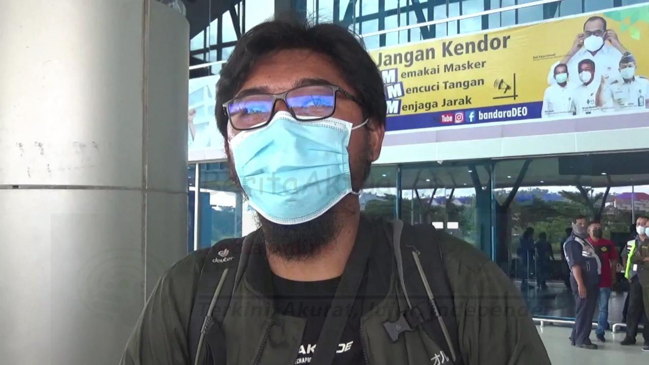 Batal Naik Pesawat, Calon Penumpang Ini Adu Mulut Dengan Petugas di Bandara DEO Sorong 4 IMG 20210508 WA0039