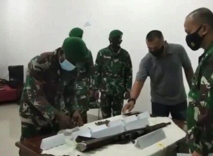 Jaga Kamtibmas Tetap Aman, Warga Sorsel Serahkan Senpi Mauser M59 Bersama 69 Amunisi 1 IMG 20210612 WA0008