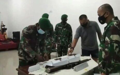 Jaga Kamtibmas Tetap Aman, Warga Sorsel Serahkan Senpi Mauser M59 Bersama 69 Amunisi 2 IMG 20210612 WA0008