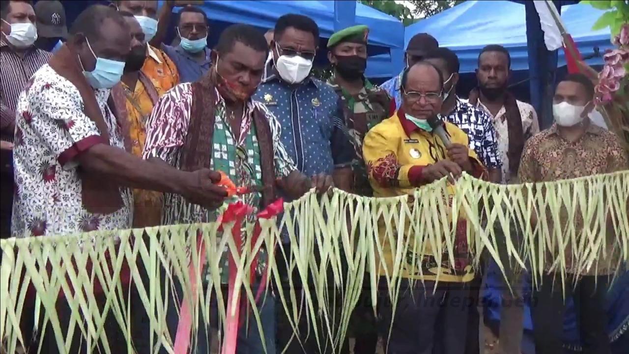 28 Unit Rumah Layak Huni Untuk Suku MOI Diresmikan 4 IMG 20210618 WA0065