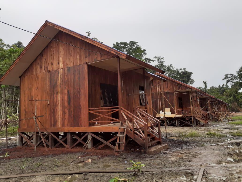 Tim Wasev Sterad Tinjau Perkembangan Program TMMD di Kampung Idoor Bintuni 4 IMG 20210710 WA0069