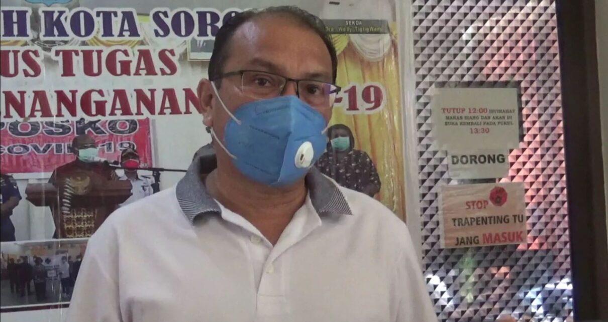 Terkonfirmasi Covid di Kota Sorong Melonjak Lagi, Masyarakat Diminta Perketat Prokes 1 IMG 20210716 WA0042
