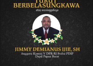 Jimmy Demianus Ijie (JDI) Meninggal Dunia, Rico Sia: Papua Barat Kehilangan 1 Putra Terbaik 13 IMG 20210723 WA0073