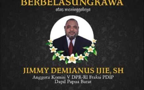 Jimmy Demianus Ijie (JDI) Meninggal Dunia, Rico Sia: Papua Barat Kehilangan 1 Putra Terbaik 4 IMG 20210723 WA0073