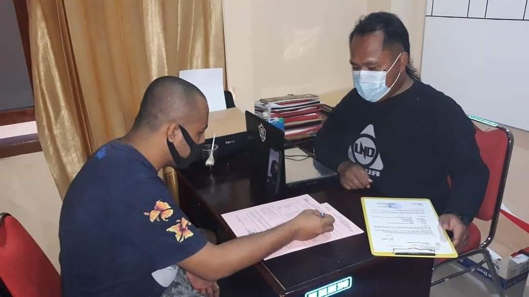Polisi Limpahkan Tiga Tersangka ke Kejaksaan Jayapura Secara Online 1 FB IMG 1628254680118