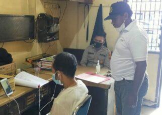 Pelaku Pencurian di Bar Scarlet Diserahkan Penyidik Secara Virtual ke Kejaksaan Jayapura 12 FB IMG 1629810101010