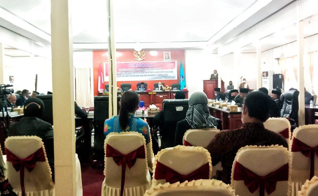 DPRD Kabupaten R4 Bahas Raperda LKPD Audit BPK Tahun Anggaran 2020 1 IMG 20210806 WA0038