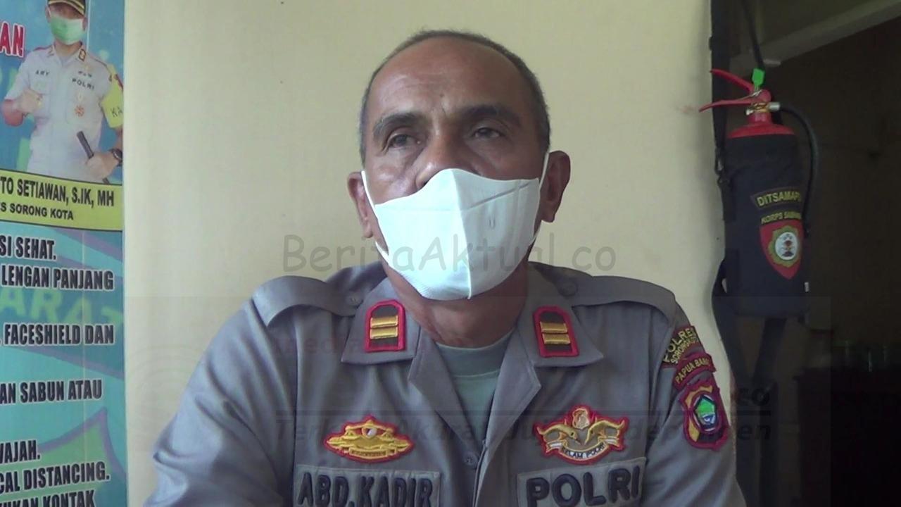 Cegah Hal Yang Tak Diinginkan, Polsek Sorong Kepulauan Police Line Sumur Warga di Doom 4 IMG 20210808 WA0058