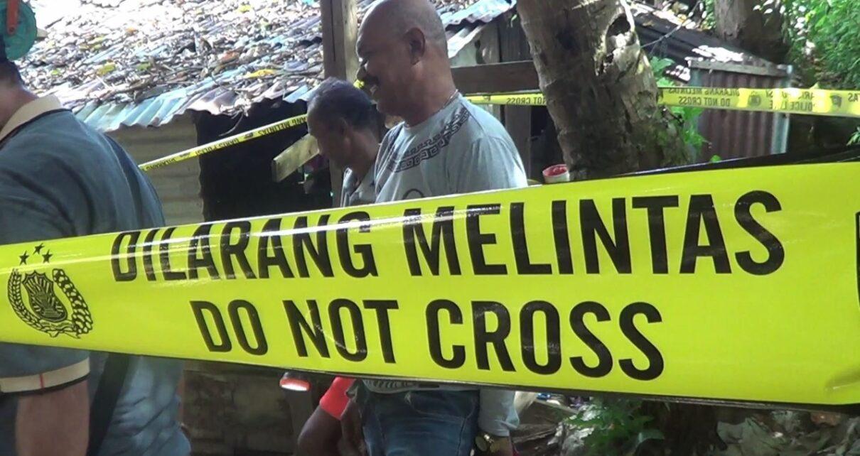 Cegah Hal Yang Tak Diinginkan, Polsek Sorong Kepulauan Police Line Sumur Warga di Doom 1 IMG 20210808 WA0062