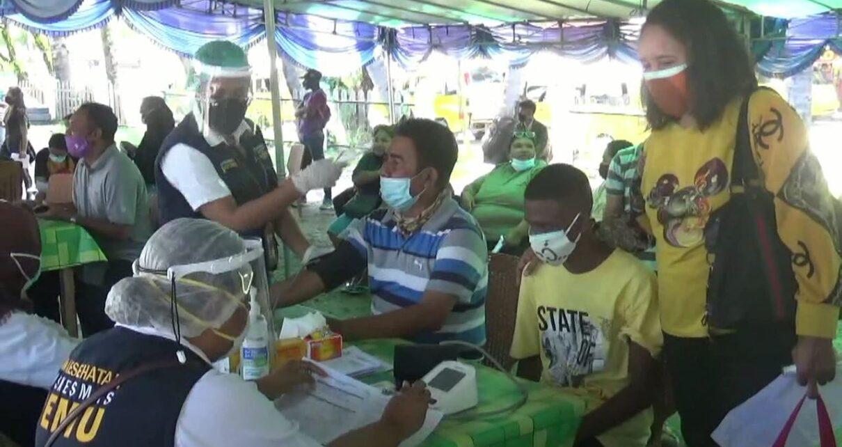Kejar Target, Pemprov Papua Barat Gelar Vaksinasi di Terminal Remu Sorong 1 IMG 20210812 WA0035