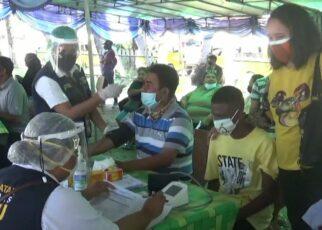 Kejar Target, Pemprov Papua Barat Gelar Vaksinasi di Terminal Remu Sorong 26 IMG 20210812 WA0035