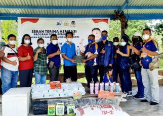 """Rico Sia Salurkan Bantuan Aspirasi """"Program Desa Berinovasi"""" ke Kelompok Pembudidaya Ikan Lele di Kab. Sorong 27 IMG 20210814 WA0133"""