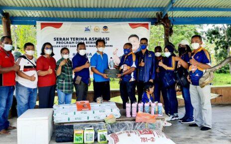 """Rico Sia Salurkan Bantuan Aspirasi """"Program Desa Berinovasi"""" ke Kelompok Pembudidaya Ikan Lele di Kab. Sorong 4 IMG 20210814 WA0133"""