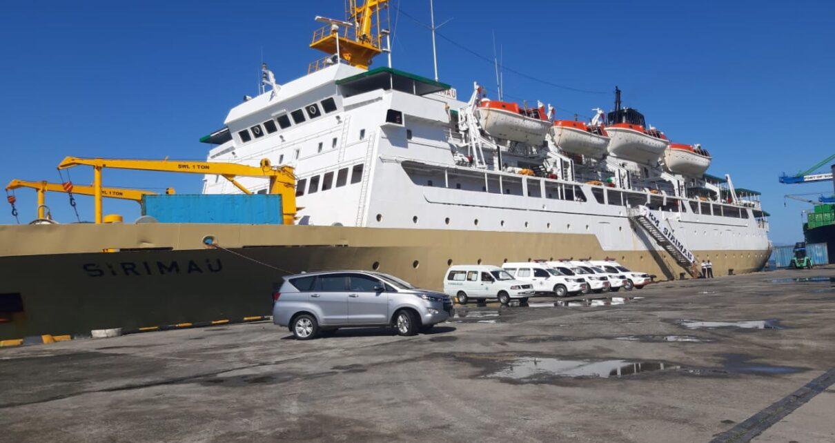 Tiba di Pelabuhan Sorong, KM Sirimau Siap Jadi Tempat Karantina Pasien Covid 1 IMG 20210816 WA0093