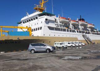 Tiba di Pelabuhan Sorong, KM Sirimau Siap Jadi Tempat Karantina Pasien Covid 19 IMG 20210816 WA0093