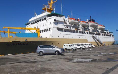 Tiba di Pelabuhan Sorong, KM Sirimau Siap Jadi Tempat Karantina Pasien Covid 11 IMG 20210816 WA0093