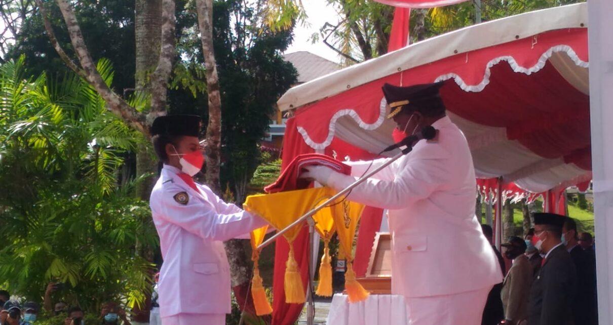 Upacara HUT RI ke-76 Tetap Berjalan Lancar Meski Tak Diiringi Lagu Indonesia Raya 1 IMG 20210817 WA0058