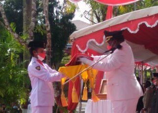 Upacara HUT RI ke-76 Tetap Berjalan Lancar Meski Tak Diiringi Lagu Indonesia Raya 23 IMG 20210817 WA0058
