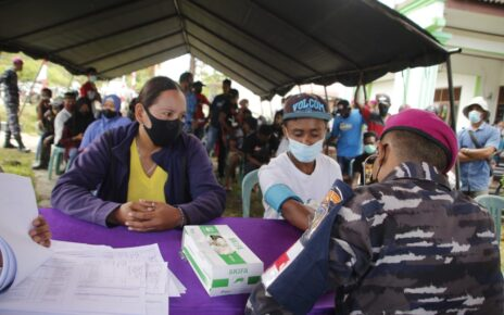 Serbuan Vaksinasi Korps Marinir Sasar Hingga Kampung Klasari Kabupaten Sorong 4 IMG 20210819 WA0126