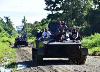 Kerahkan Material Tempur, Korps Marinir Serbu Kampung Klafdalim Moisegen Sorong 15 IMG 20210826 WA0096