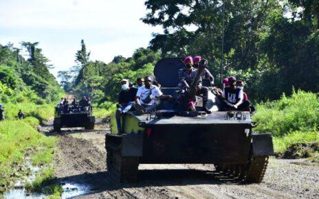 Kerahkan Material Tempur, Korps Marinir Serbu Kampung Klafdalim Moisegen Sorong 3 IMG 20210826 WA0096
