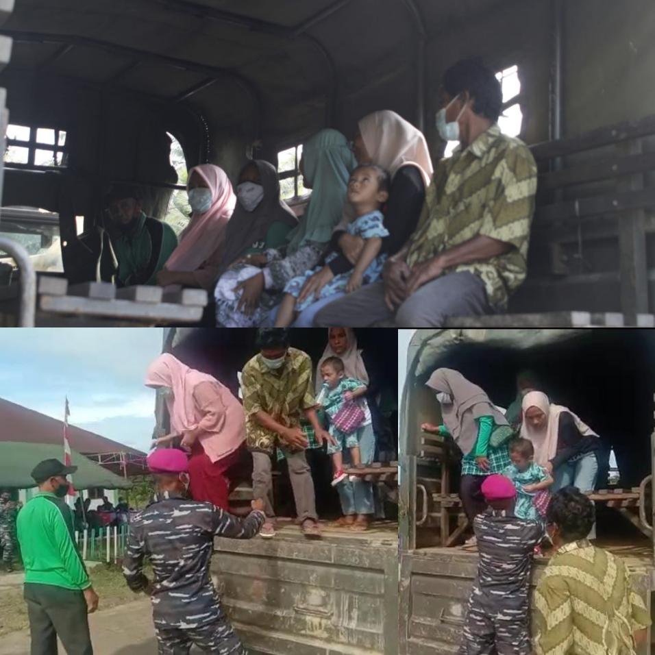 Serbuan Vaksinasi Korps Marinir Sasar Hingga Kampung Klasari Kabupaten Sorong 5 IMG 20210819 3