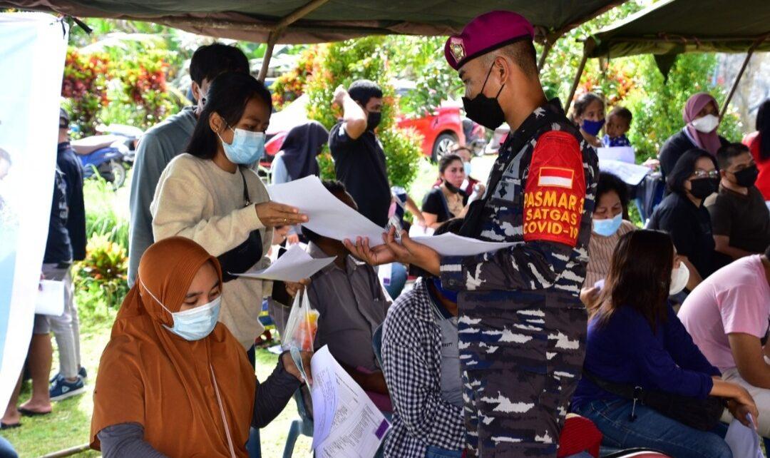 Serbuan Vaksinasi Korps Marinir TNI AL Disambut Antusias Warga Aimas 1 Screenshot 20210809 224552 Gallery