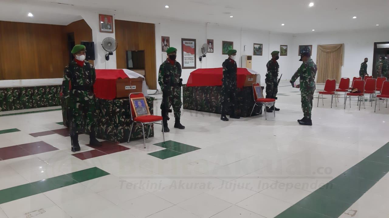 Tiba di Sorong, Jumat Siang Jenazah 4 Anggota TNI Yang Gugur di Maybrat Dipulangkan 4 IMG 20210903 WA0001
