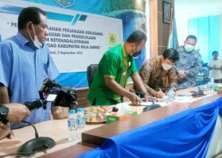 Wujudkan Bahari Terang, Pemda R4 Bersama PLN Dan PT GAG Nikel Teken Kerjasama 16 IMG 20210903 WA0053