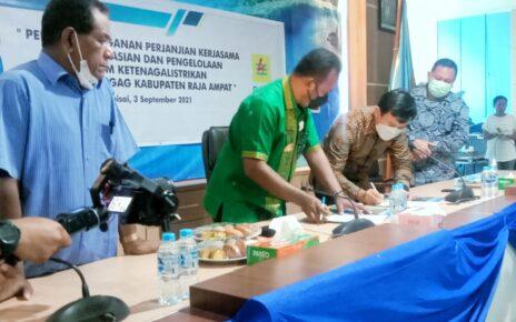 Wujudkan Bahari Terang, Pemda R4 Bersama PLN Dan PT GAG Nikel Teken Kerjasama 3 IMG 20210903 WA0053