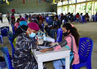 Vaksin Massal Nasional, Pasmar 3 Korps Marinir Sasar Hingga Kampus Unimuda Sorong 16 IMG 20210907 WA0054