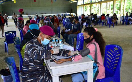 Vaksin Massal Nasional, Pasmar 3 Korps Marinir Sasar Hingga Kampus Unimuda Sorong 2 IMG 20210907 WA0054