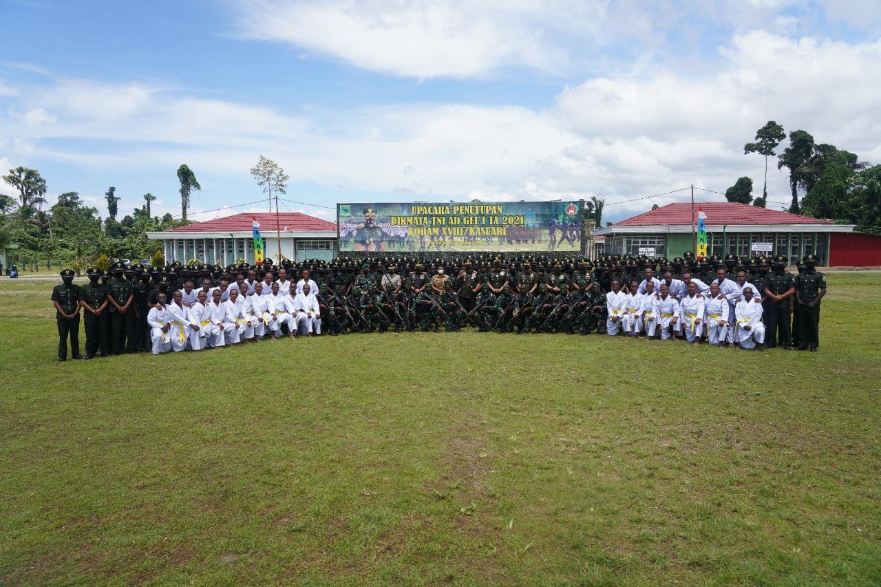 Pangdam XVIII Kasuari Tutup Dikmata TNI AD Gelombang Pertama 2021 4 IMG 20210908 WA0064