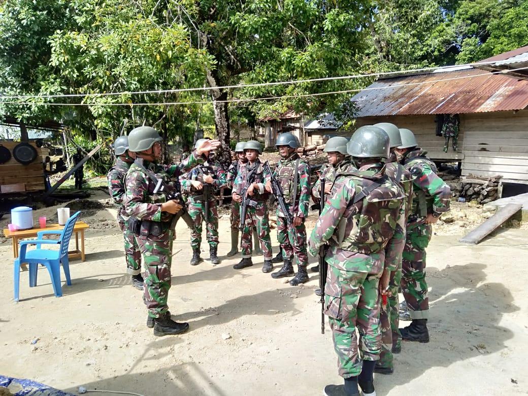 Kejar Pelaku Penyerangan Posramil Kisor Maybrat, Aparat Gabungan Terlibat Kontak Senjata Dengan KKB 4 IMG 20210908 WA0077