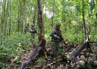 Kejar Pelaku Penyerangan Posramil Kisor Maybrat, Aparat Gabungan Terlibat Kontak Senjata Dengan KKB 17 IMG 20210908 WA0079
