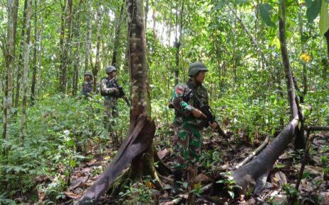 Kejar Pelaku Penyerangan Posramil Kisor Maybrat, Aparat Gabungan Terlibat Kontak Senjata Dengan KKB 3 IMG 20210908 WA0079