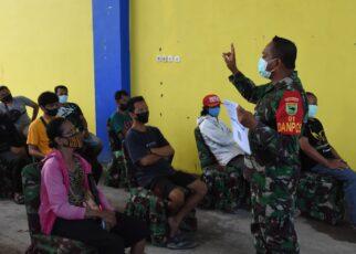 Kodam XVIII Kasuari Kembali Gelar Serbuan Vaksinasi Bagi Masyarakat Manokwari 23 IMG 20210910 WA0013