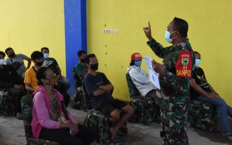 Kodam XVIII Kasuari Kembali Gelar Serbuan Vaksinasi Bagi Masyarakat Manokwari 4 IMG 20210910 WA0013