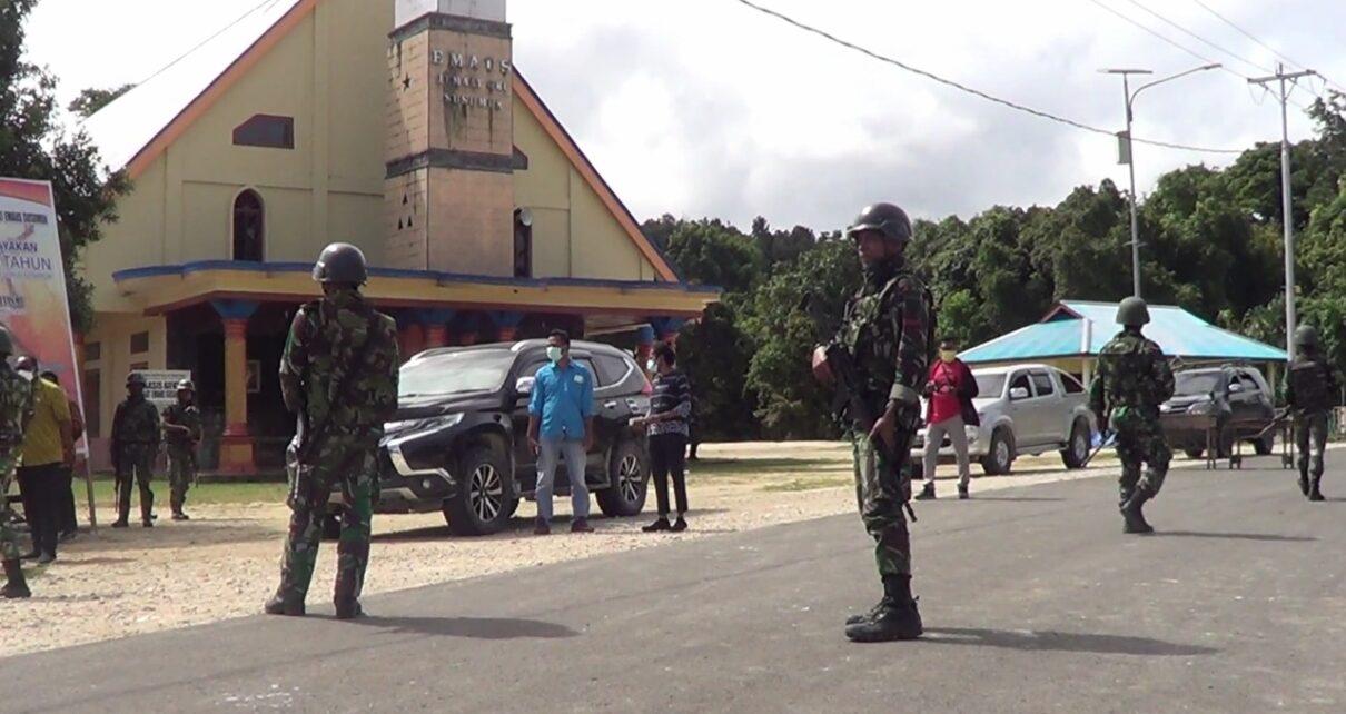 Pasca Penyerangan Posramil Kisor, Aparat Perketat Keamanan Kawasan Maybrat 1 IMG 20210910 WA0035