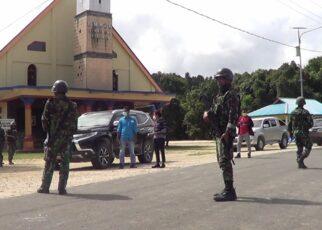 Pasca Penyerangan Posramil Kisor, Aparat Perketat Keamanan Kawasan Maybrat 17 IMG 20210910 WA0035