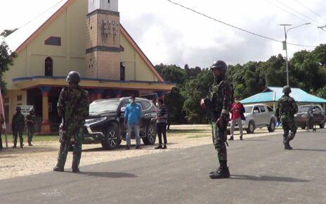 Pasca Penyerangan Posramil Kisor, Aparat Perketat Keamanan Kawasan Maybrat 12 IMG 20210910 WA0035