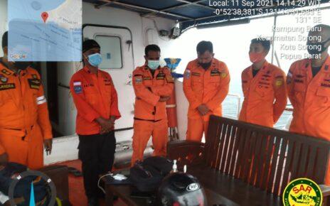 Jatuh Dari Kapal, ABK KM Aspak 15 Hilang di Perairan Misool Raja Ampat 4 IMG 20210911 WA0126
