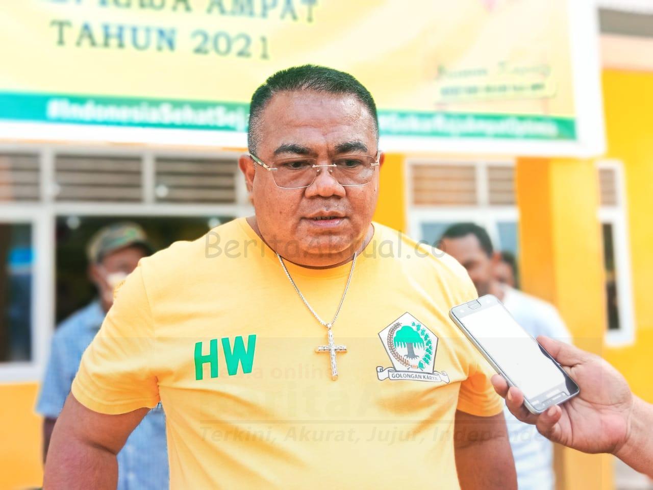 DPD Golkar Raja Ampat Salurkan 1.000 Paket Bapok Untuk Warga Waisai 4 IMG 20210915 WA0038